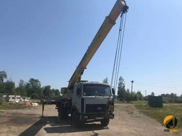 Автокран 14 тонн смоленск