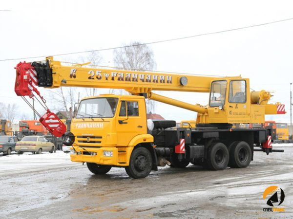 Автокран 25т Смоленск