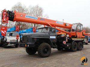 Автокраны Смоленск